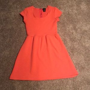 Rue 21 Coral Textured Knit Dress